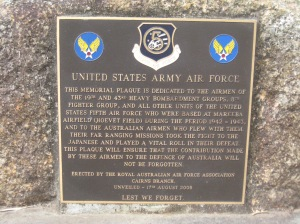 United States Army Air Force Plaque