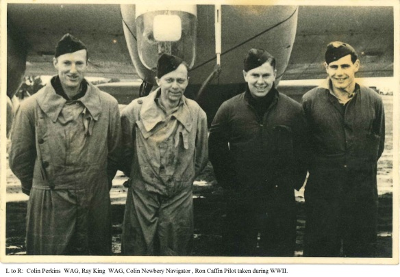 WAG Sgt Colin Newbery and Crew